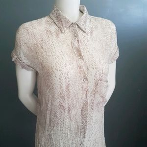 Gentle Fawn Oversized Button Down
